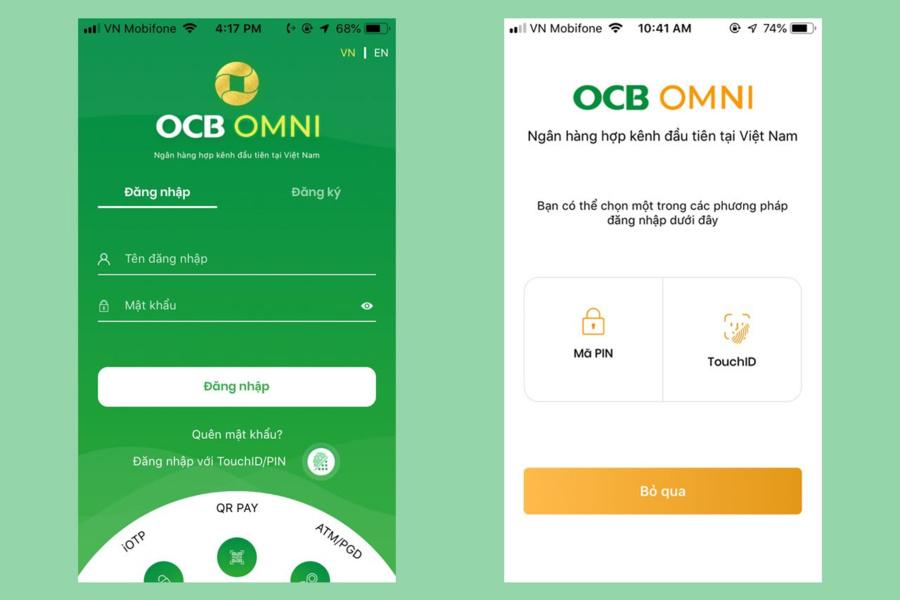 Giao dịch nhanh tiết kiệm thời gian khi dùng OCB OMNI
