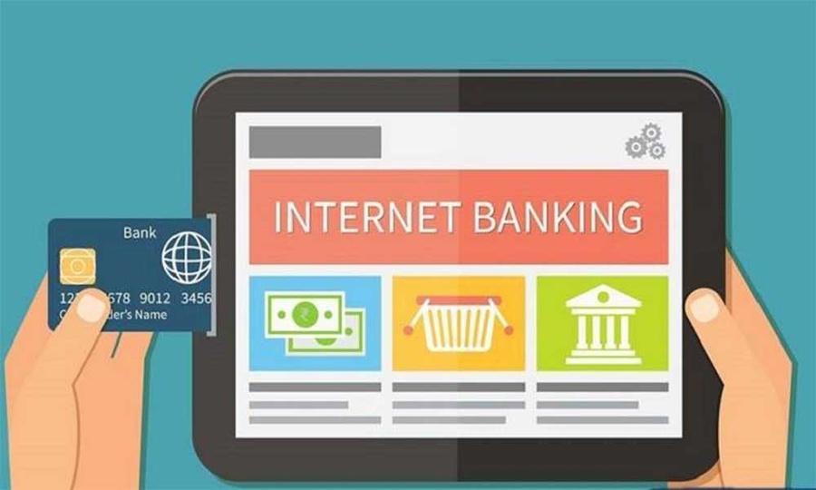 Internet banking là ứng dụng chuyển tiền rất phổ biến.