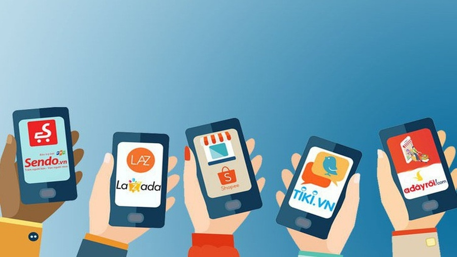Nạp thẻ điện thoại online qua trang thương mại điện tử.