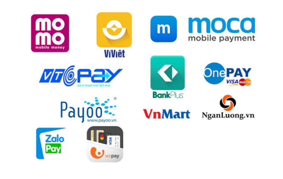 Một số loại phí điện tử được dùng nhiều nhất hiện nay.