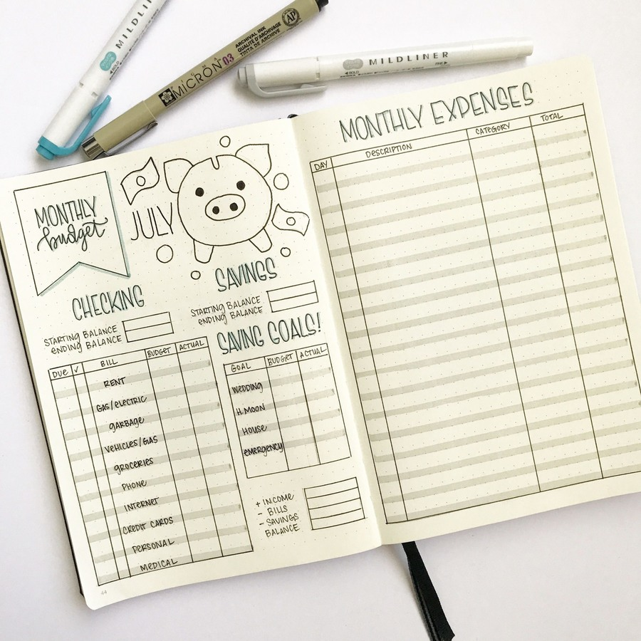 Mẫu kế hoạch tài chính này giúp bạn có cái nhìn tổng quan về tình hình tài chính cá nhân theo tháng.