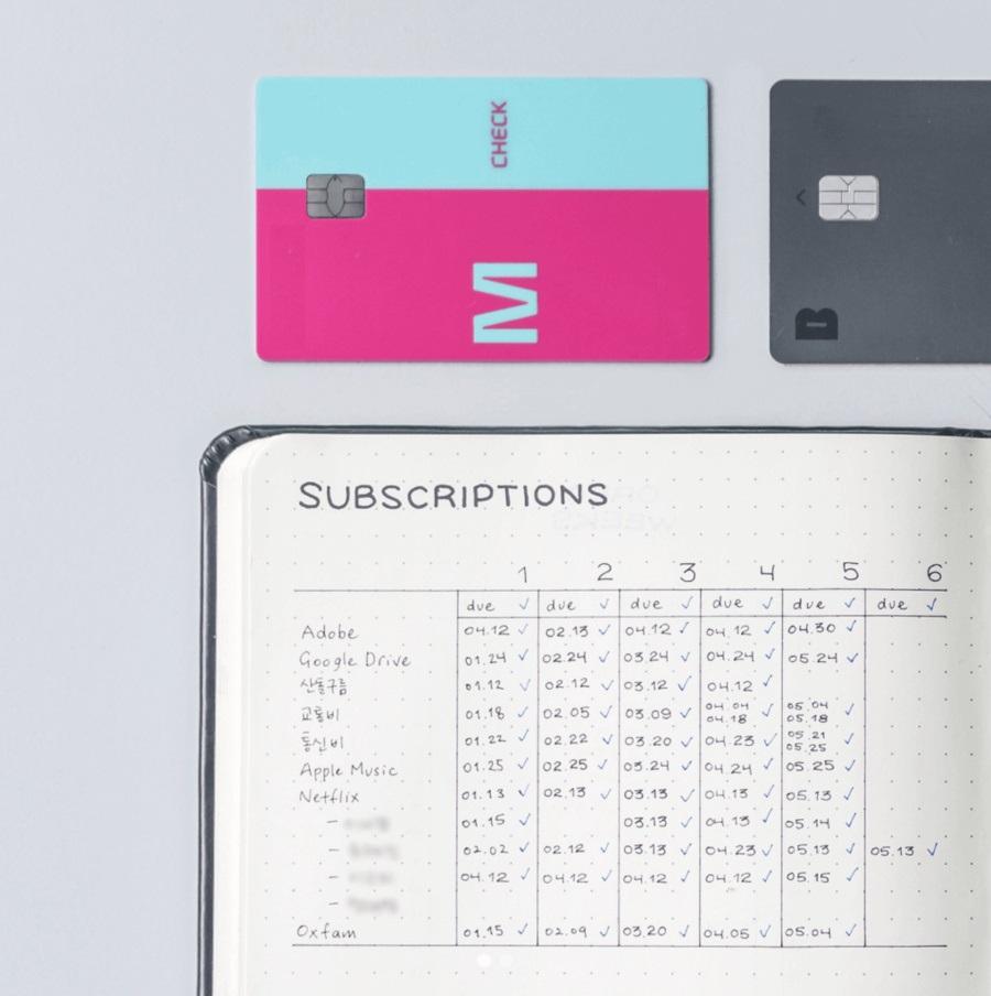 Bạn có thể kết hợp Subscriptions Tracker với Bill Tracker để theo dõi hóa đơn và các gói đăng ký ở cùng một trang.