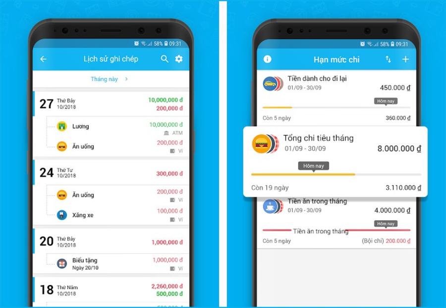 App Misa với nhiều tính năng ấn tượng.