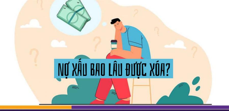 Nợ xấu bao lâu được xóa?