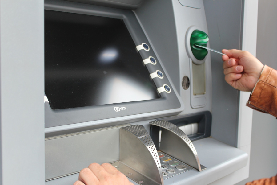 Có thể rút tiền mặt thẻ tín dụng tại các máy ATM.