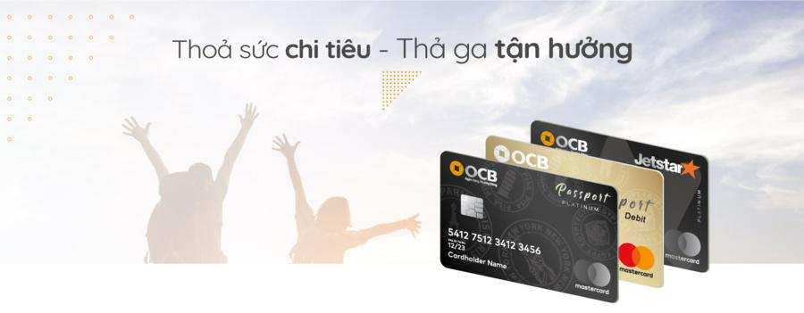 Các loại thẻ tín dụng tại OCB.