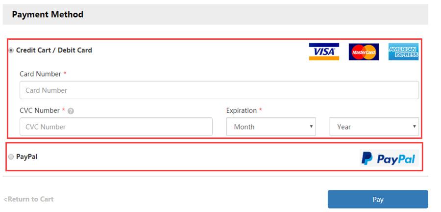 Số CVV/CVC là thông tin bắt buộc khi thực hiện giao dịch thanh toán online bằng thẻ tín dụng.