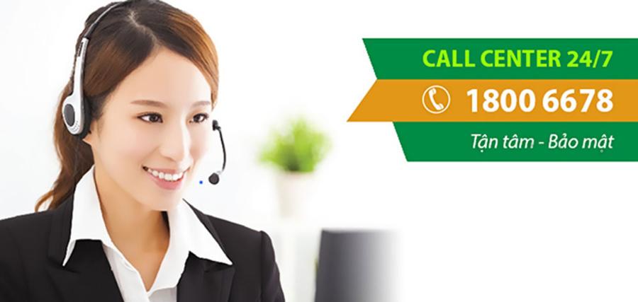 Gọi điện trực tiếp đến tổng đài để được hỗ trợ xác nhận sổ tiết kiệm trực tuyến.