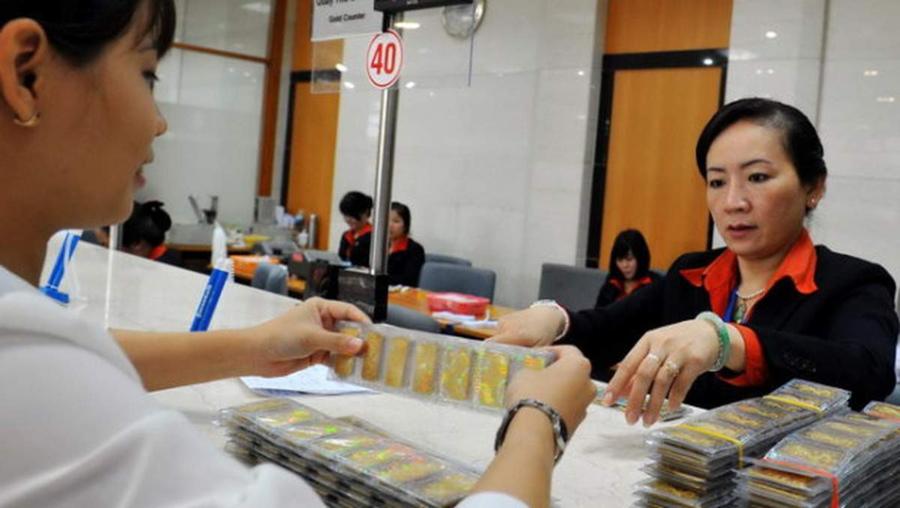 Loại hình gửi tiết kiệm bằng vàng đã được thay thế bằng dịch vụ ký gửi vàng.